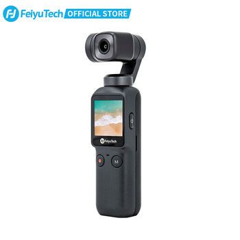 Feiyutech Feiyu Pocket Action Camera 3-Axis Stabilization 4K 60fps 270 Mins Stabilizer Integrated Camera Used With Smartphone 1