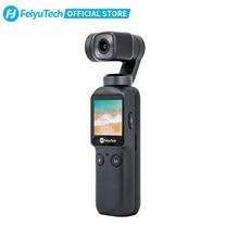 Feiyutech Feiyu Pocket Action Camera 3-As Stabilisatie 4K 60fps 270 Minuten Stabilizer Geïntegreerde Camera Gebruikt Met Smartphone