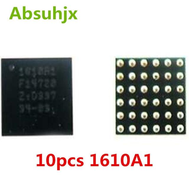 Absuhjx 10 sztuk 1610A1 U2 ładowania ic dla iPhone 5S ładowarka USB ic Chip 36pin na pokładzie piłka części