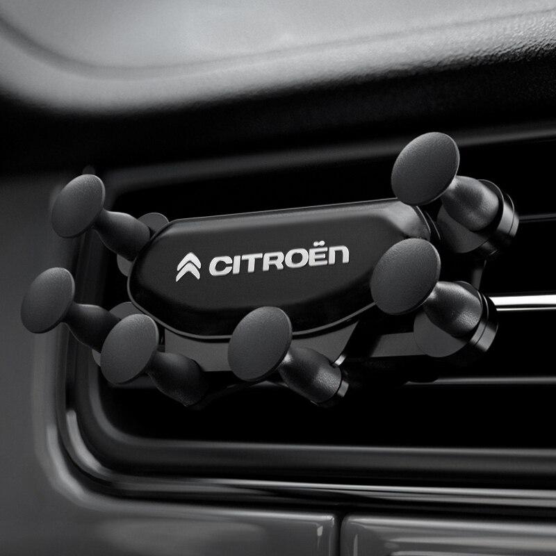 Автомобильный мобильный телефон держатель крепление, устанавливаемое на вентиляционное отверстие в салоне автомобиля стенд № магнитный автомобильный держатель телефона для Citroen C1 C2 C3 C4 C5 C6 C8 C4L DS3 DS4 DS5 DS5LS|Наклейки на автомобиль|   | АлиЭкспресс