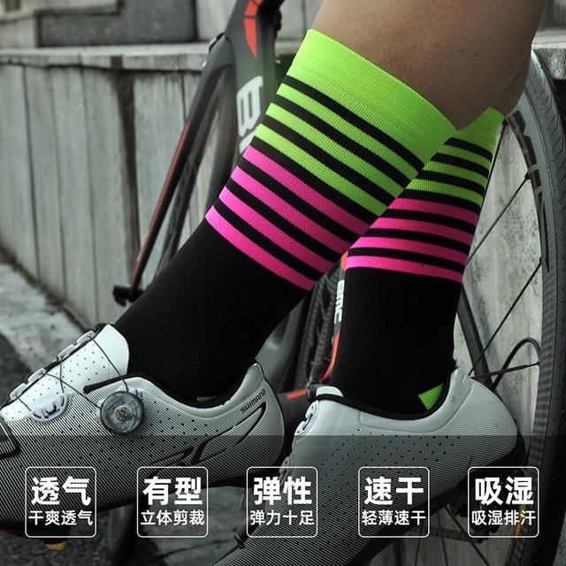 2020 pro equipe meias de ciclismo profissional mtb esportes da bicicleta meias alta qualidade correndo meias basquete muitas cores 2