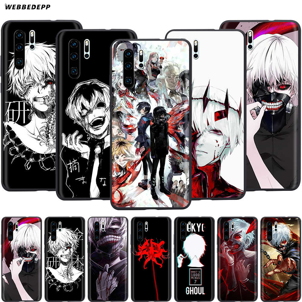 Webbedepp Tokyo Ghoul Anime Case for Huawei Honor 6A 7A 7C 7X 8 8X 8C 9 9X 10 20 Lite Pro Note View