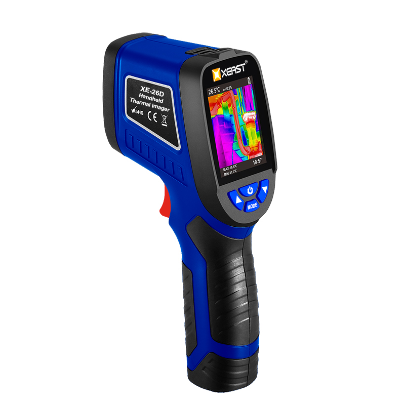 Resolution 32x32 LCD portable infrared camera Infrared thermal imager XE-26 Thermal image Infrared image Thermal imager battery not included IR infrared thermal imager