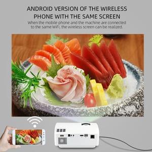 Image 4 - CRENOVA Video Proiettore Con Android 6.0 del SISTEMA OPERATIVO Per Smart phone Home Cinema Video di Film Proiettore Bluetooth WIFI Beamer