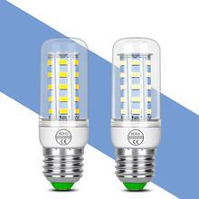 Bombillas Led E14 220V E27 Led Lamp g9 Corn Bulb 5730 24 36 48 56 69 72led Lampada para el hogar 3Вт 5Вт 7Вт 12Вт 15Вт 20Вт свет 240В