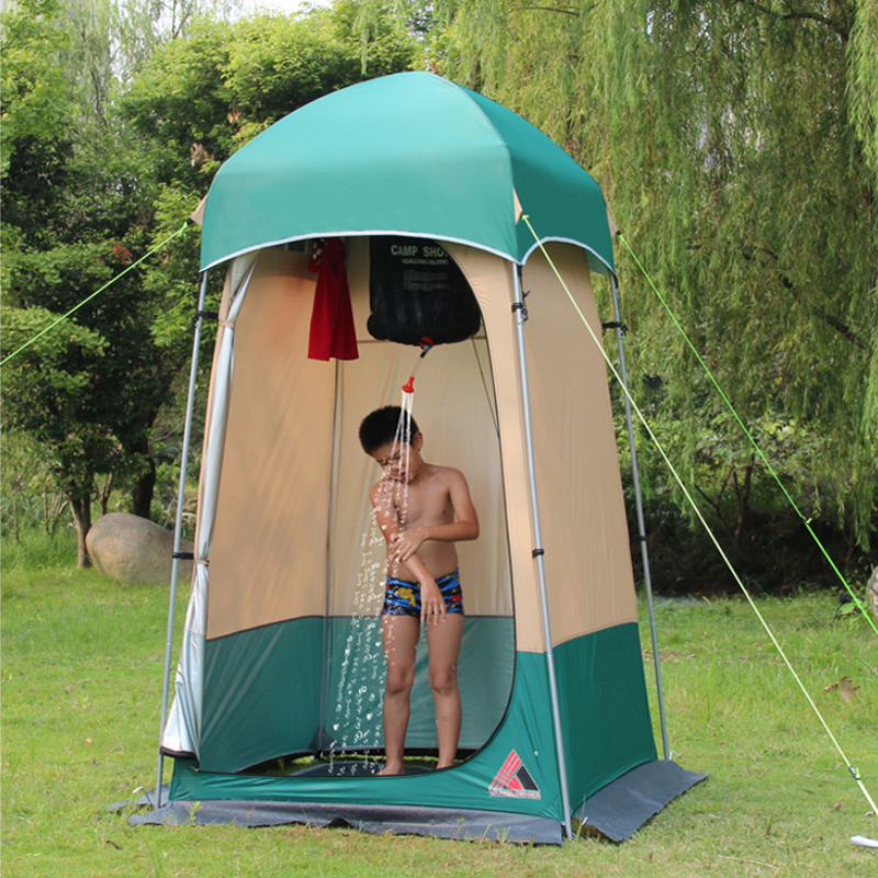 Outdoor Bathing Showering Tent, Anti-translucent Changing Clothes, Bathing, Warm Mobile Toilet, Bathroom, Fishing And Sunscreen
