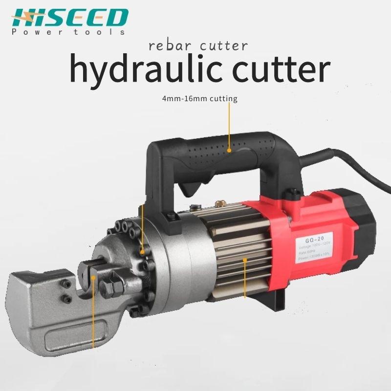 110V//220V hydraulic rebar cutting machine Rebar cutter Electric steel bar cutter