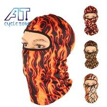 Face-Mask Skull Bike Cycling Sport Winter Ghost 5-Style Helmet-Cap Flame-Hats Men