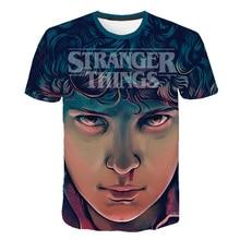 3D T Shirt Stranger Things . 3 costume eleven Boys Girl Horror tv stranger things case Streetwear basketball T-shirt hip hop Top