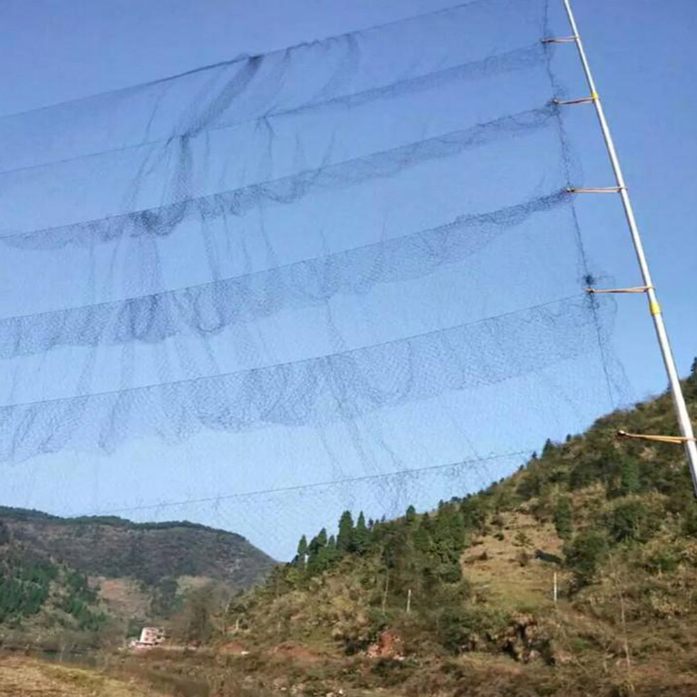 Anti Bird Mist Net Prevent Hunting Catching Garden Tools Vegetable Farm Orchard Vineyard Protect Nylon Netting Black Mesh