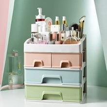 Пластиковый ящик Органайзер для макияжа косметический ногтей