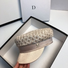 2020 Hat New Autumn Thin Women Folds Section Military Hats Fashion Outdoor Travel Berets Leisure Shopping Shade Cap