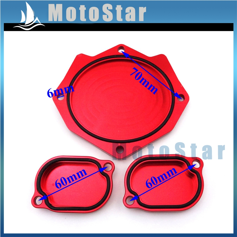 Dress Up Kit Valve Covers For Zongshen Z155 155cc Engine IMR Pitmotard Pit Dirt Motor Bike