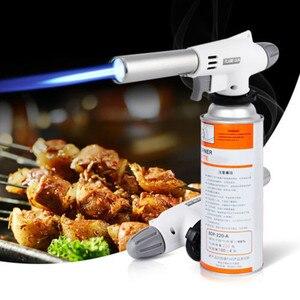 2019 Hot Camping Gas Torch Welding Fire Maker Lighter Butane Burner Flame Camp Cooking Supplies Outdoor Accessories Dropship 726
