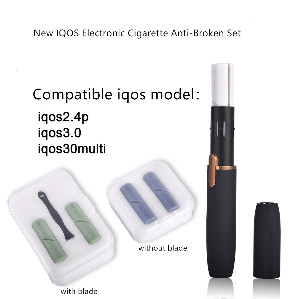 NEW Anti-break cleaning silicone plug stick Tools Protector Kit for IQOS 2.4/IQOS 3.0 Electronic Cigarette Vape Accessories