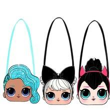 Рюкзак на плечо с изображением куклы-сюрприза LOL, милый модный рюкзак для девочек с принтом из аниме, маленькая сумка, подарки, 2S55