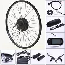 ไฟฟ้าจักรยานชุด48V 500W 13AH USBจักรยานเสือภูเขาล้อมอเตอร์ด้านหลังสำหรับ26/29นิ้วEbikeไฟฟ้าจักรยานAccessori