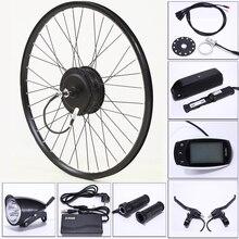 Elektrische fahrrad Conversion Kit 48V 500W 13AH USB Mountainbike Rad Motor Hinten für 26/29 zoll Ebike Elektrische fahrrad accessori