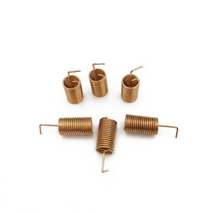 Image 3 - 433MHZ Copper Spring Antenna Spiral Coil Antenna Module 433 Built in PCB Welding Antenna Bend/Right Angle