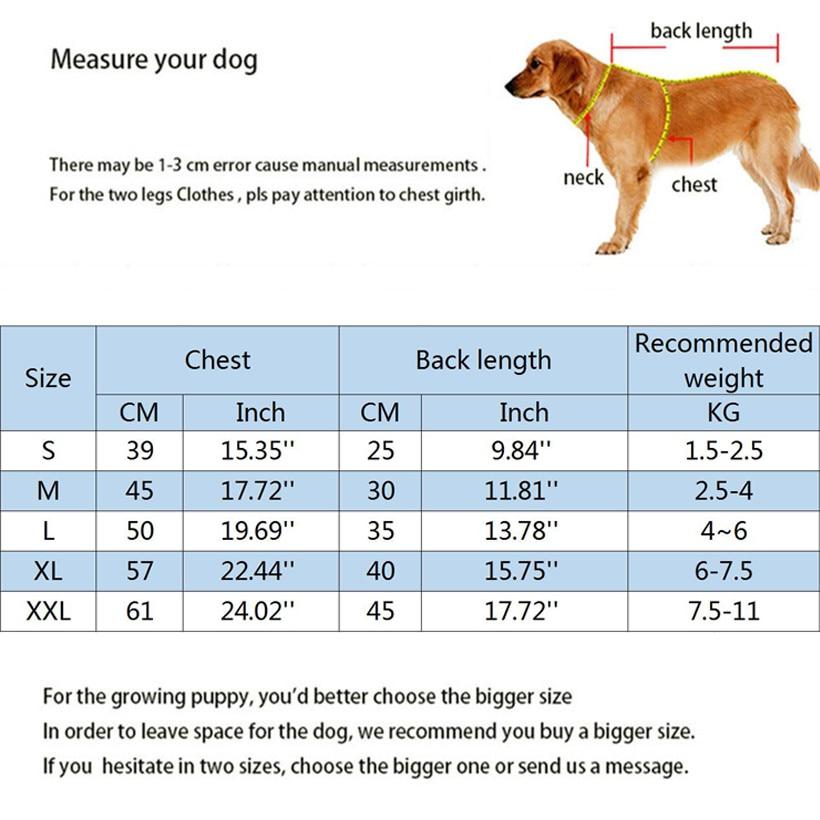 Dog Pet Clothes warm (4)