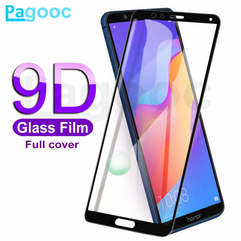 9D Protective Glass on For Huawei Honor 7A 7C Pro 8X 9X 8A 8C 8S Honor 9 10 Lite Screen Protector 9H Tempered Glass Film Case