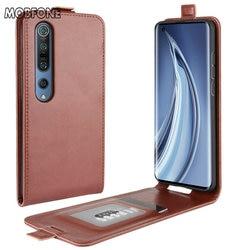Чехол для Xiaomi Mi 10 5G, кожаный флип-чехол для Xiaomi Mi 10 Pro 5G Mi10, Вертикальный чехол для Xiaomi 10 M10, чехол для телефона Mi10