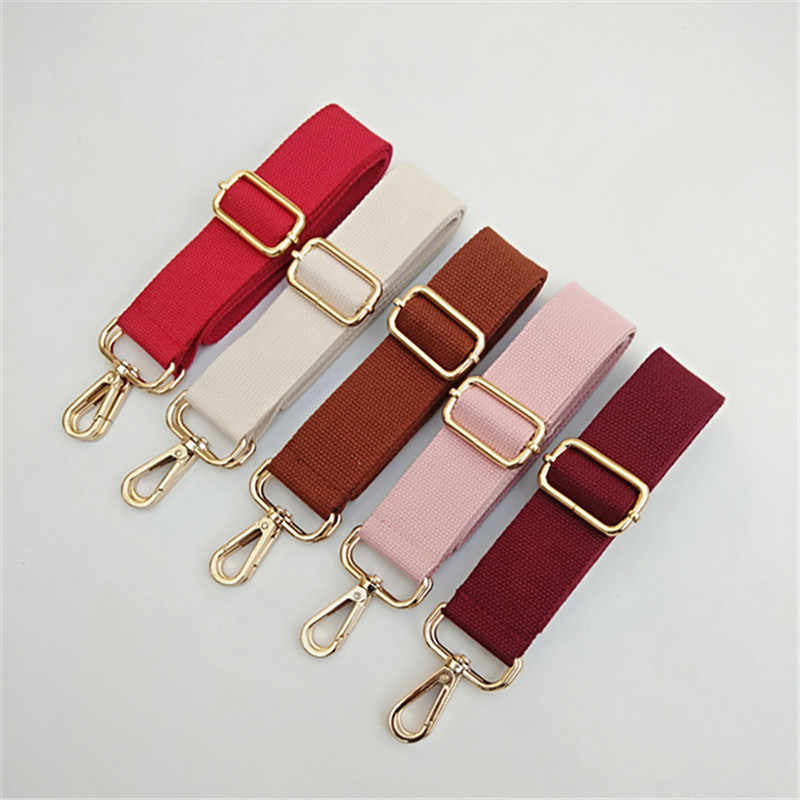 HJKL new color canvas bag strap adjustable versatile bag strap o bag handles  accessories long strap anti gravity shoulder strap