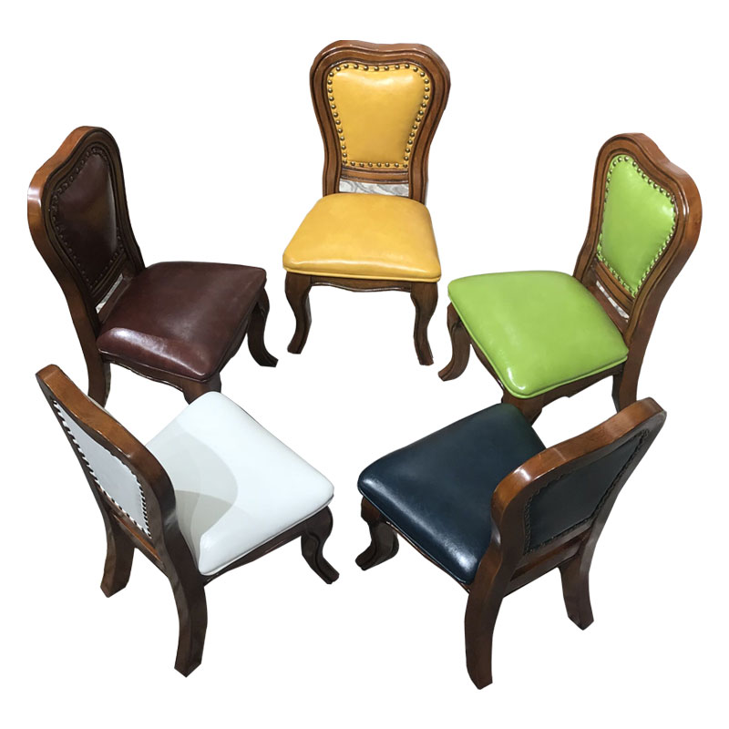 American Home Solid Wood Small Chair Child Chair Small Stool Changing Shoe Stool Living Room Sofa Low Stool