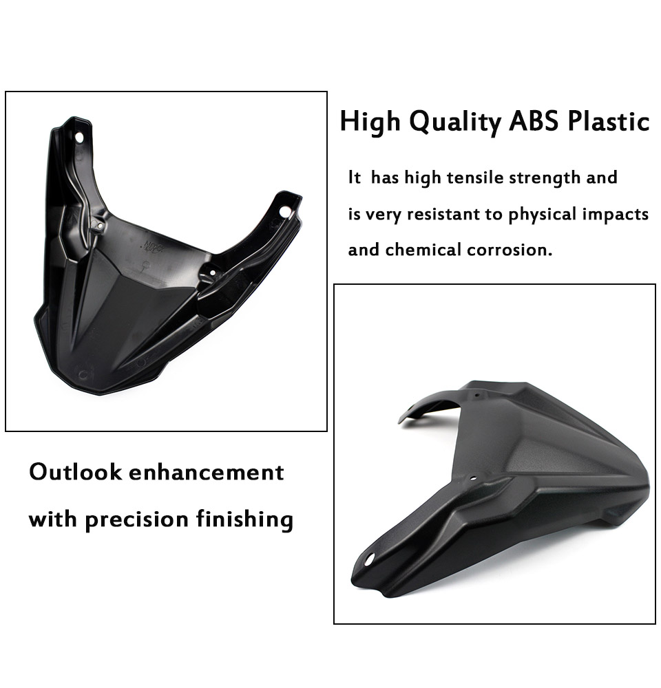MT 09 Accessories Front Hugger Wheel Fender Cover Beak Nose Cone Extension For Yamaha 2015-2017 MT-09 FJ-09 MT09 FJ09 Tracer