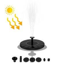 Солнечный насос 2020 верхний фонтан отдельно стоящий Плавающий