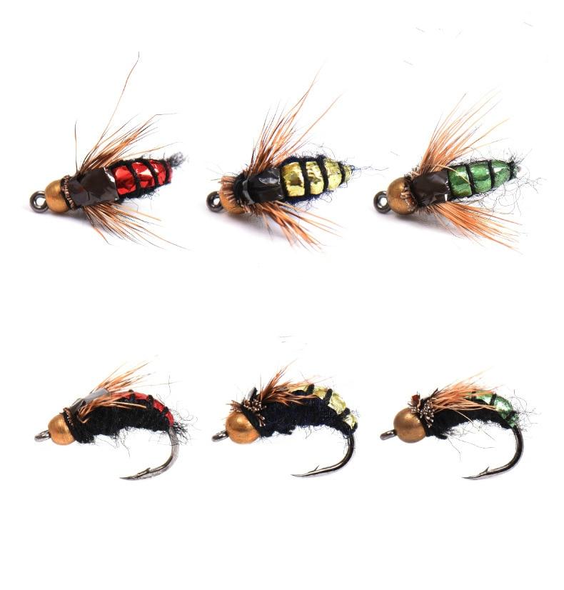 30pcs Bread Bug Fishing Lure Maggot Bionic Worm Bait Tackle Fishing Accessories
