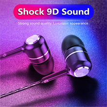 HIFI In-ear Hands Free Sport Earphone Wholesale Wired Super Bass 3.5mm Crack Colorful Headset Earbud With Microphone For Xiaomi