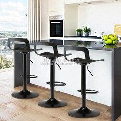 Новинка 21%, Европейский барный табурет, современный минималистичный высокий табурет, барный стул, домашний барный табурет, креативный табур...