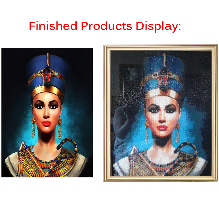 abstract girl face Diamond mosaic full drill square round diamond 5d diy Diamond Painting Cross Stitch Diamond Embroidery woman-4