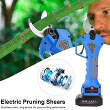 Pruning Scissors Brushless Electric Pruning Scissors Cutting Branch Scissors Lithium Electric Garden Branch Scissors