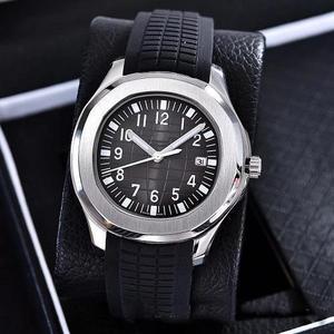 Мужские часы Aquanaut с автоматическим перемещением t из нержавеющей стали, удобный чехол с резиновым ремешком, оригинальные мужские часы с зас...