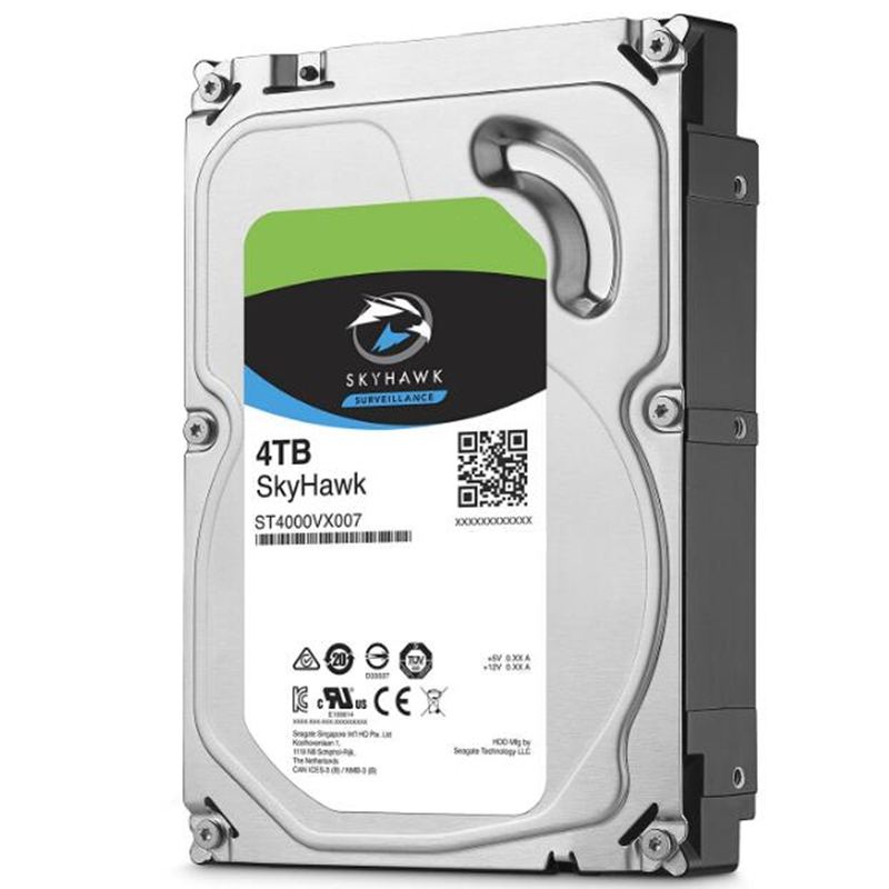 """New HDD For Seagate Brand Skyhawk 4TB 3.5"""" SATA 6 Gb/s 64MB 5900RPM For Internal Hard Disk For Surveillance HDD For ST4000VX007 2"""