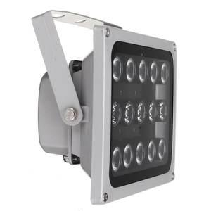 Image 5 - 12 v 15 led 적외선 조명 램프에 대 한 밤 비전 금속 채우기 빛 cctv 보안 액세서리 방수 ip65