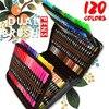 Aquarell Pinsel Stift Copic Marker 120 Farbige Dual Tip Kunst Marker Fühlte Spitze Stifte, Begegnen Für Zeichnung Schreibwaren Liefert