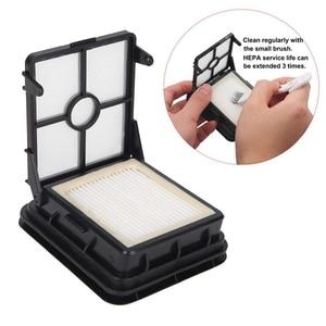 Image 4 - 2 팩 엉킴없는 다중 표면 Pet 브러시 롤 + 2 팩 진공 필터 1866 Bissell Crosswave 진공 청소기 교체