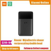 Xiaomi Mijia – rasoir électrique Portable sans fil, 2 têtes de couteau, étanche IPX7, Recharge type-c, pour hommes