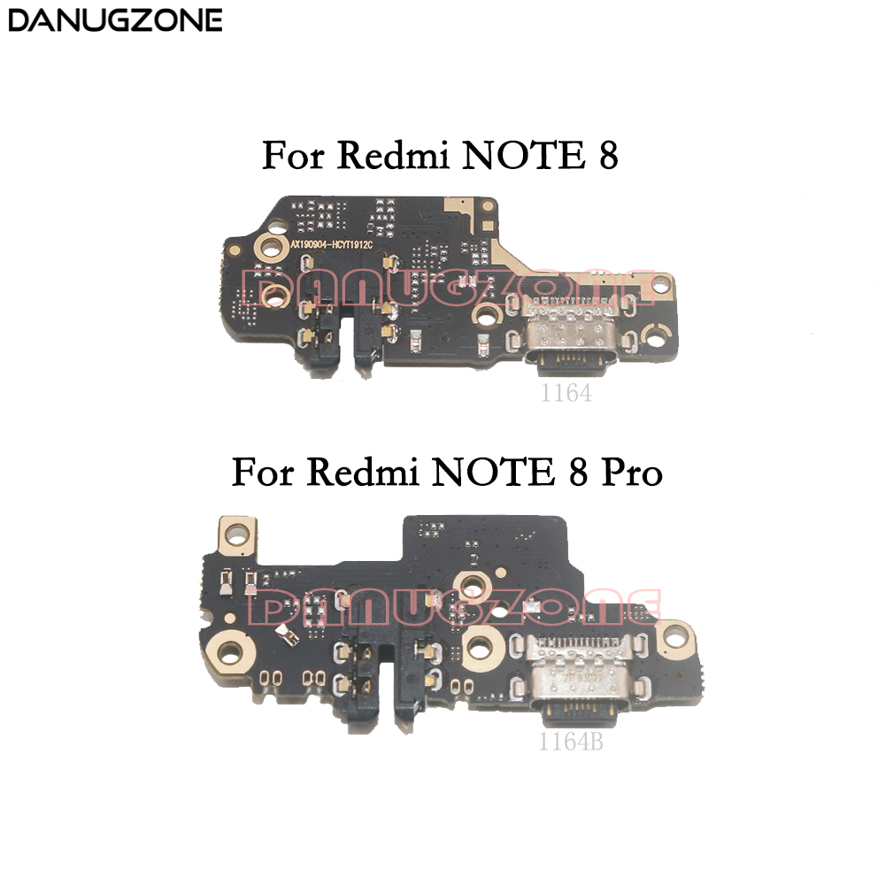 USB Charging Dock Port Socket Jack Plug Connector Charge Board Flex Cable For Xiaomi Redmi NOTE 8 / NOTE 8 PRO