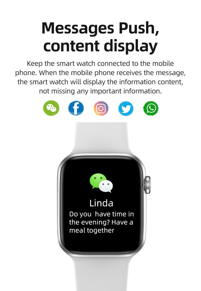 T500 Plus Smart Watch 10