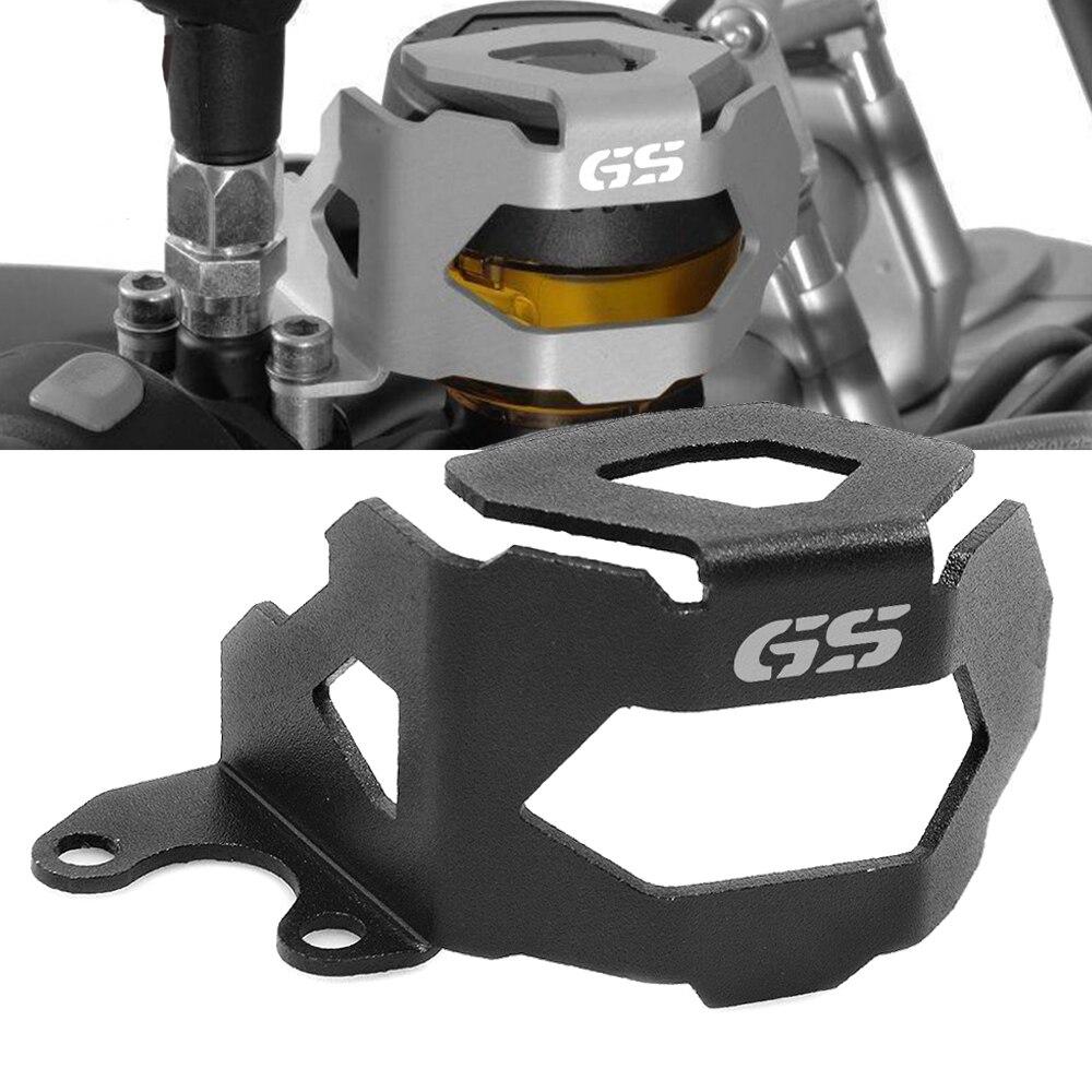 Aluminiowy CNC do motocykla z przodu płyn hamulcowy ochronna dla BMW F800GS F700GS F 800 GS F 700 GS 2013-2017 2018 ochraniacz zbiornika