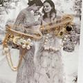 Klassische design Kamelie Quasten Perle Blume brosche Anzahl 5 Broche Broschen Pins für frau Luxus Marke