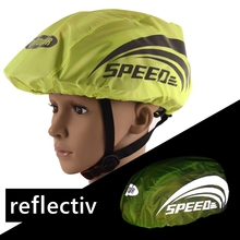 Waterproof Reflective Helmet Cover Outdoor Cycling Climbing Safety Night Reflective Hat Cover