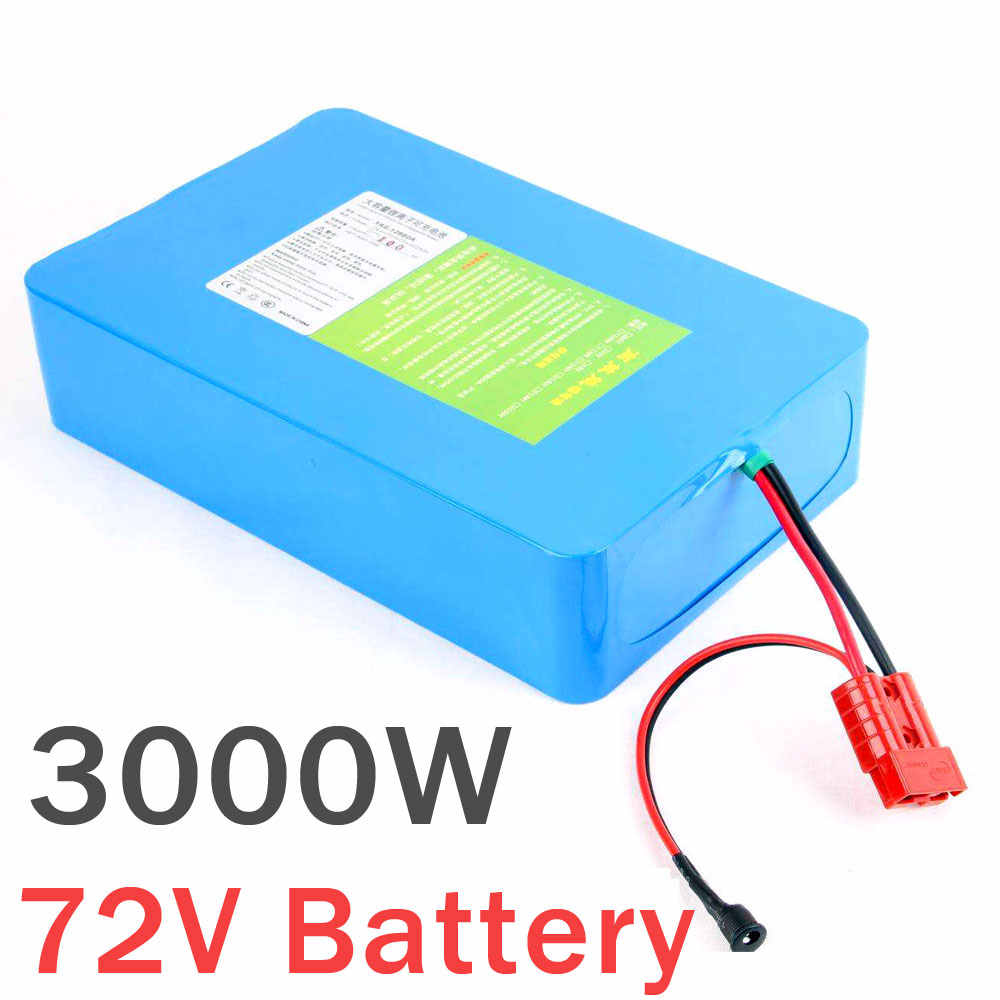 72v 20AH 30AH 40AH 60AH 2000W 3000W lithium Ebike battery pack 72V Scooter Battery with charger