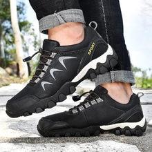 Мужские Нескользящие кроссовки удобные Сникерсы для пешего туризма