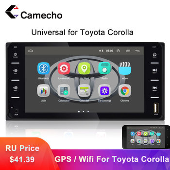 Camecho Universal 2Din Car Multimedia Player Autoradio 7'' Mirror Link AUX/TF/USB Video MP5 Player Auto Radio For Toyota Corolla image