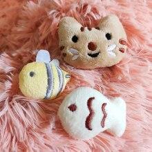 [MPK Catnip Toy] купите любые 3(10) товара получите скидку 30%(40%)! Новинка кошачья мордочка дизайн кошачья игрушка, кошачья мята Печенье кошка подушка